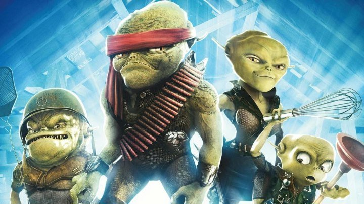 Пришельцы на чердаке HD(Приключенческий фильм, Комедия)2009 (6+)
