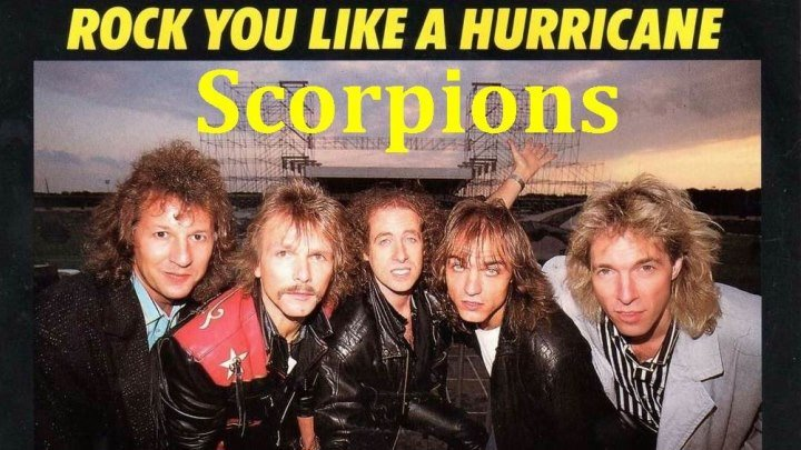 Scorpions - Rock You Like A Hurricane (1984) ♫(1080p)♫✔