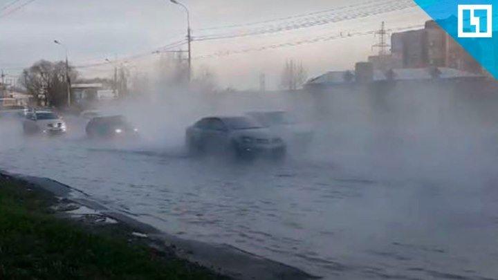 Ураган и потоп в Томске