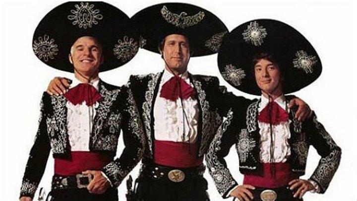 Три амиго (1986) комедия HD