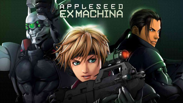 Яблочное зёрнышко 2 Appleseed Ex Machina 2007 BDRip (1080p)