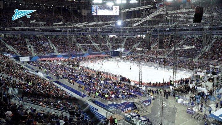 Как «Газпром Арена» стала хоккейным стадионом