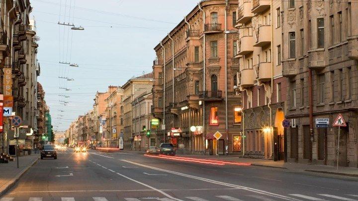 Санкт-Петербург, Россия. Вид на ул. Восстания. Вэб-камера ONLIVE