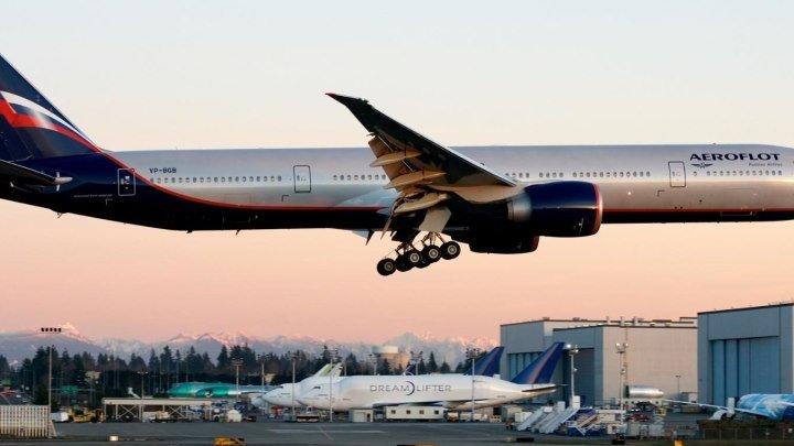 Boeing 777.Эстафета на Камчатку (Елизово)