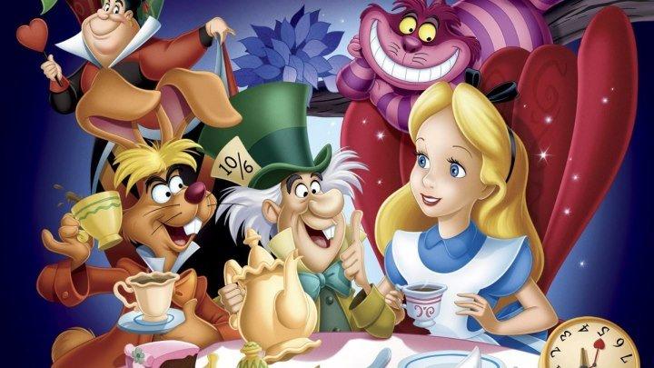 мультфильм Алиса в стране чудес (1951)