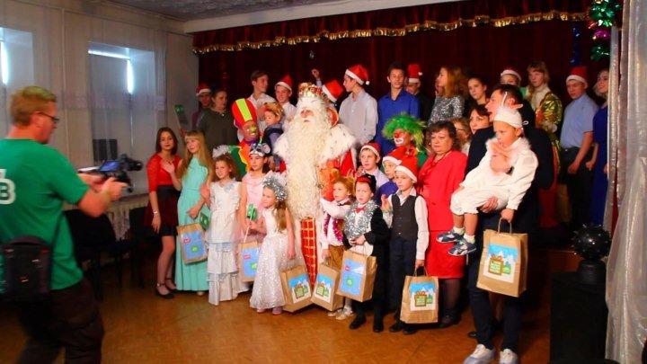 Специальный репортаж Дед Мороз и НТВ посетили детей, оставшихся без попечения родителей Барнаул