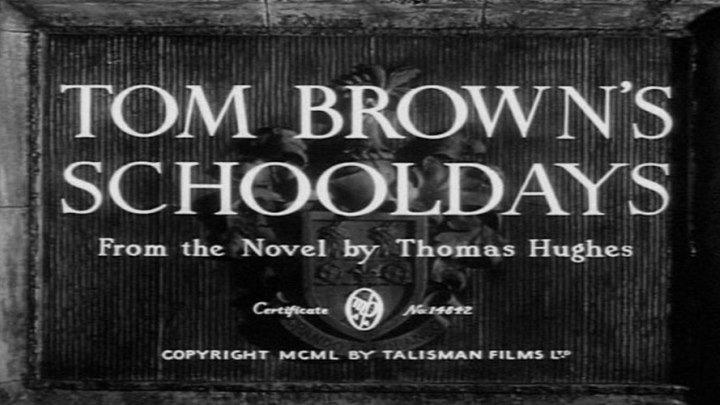 Tom Brown's Schooldays starring John Howard Davies, Robert Newton and James Hayter!
