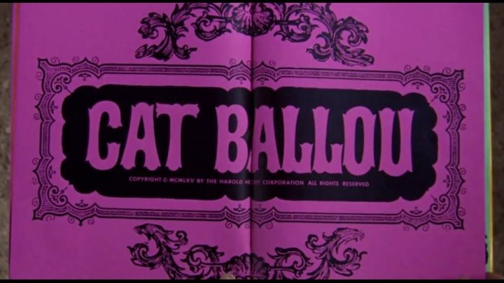 """ Кэт Баллу "" ( вестерн комедия . 1965 ) новая озвучка ."