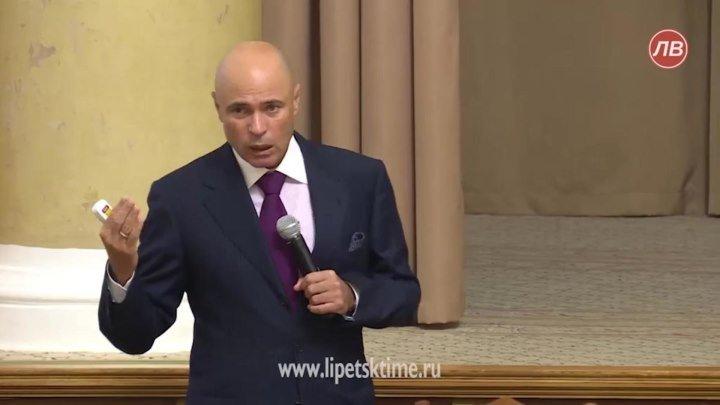 Новые и главные задачи поставил Липецкий губернатор Игорь Артамонов
