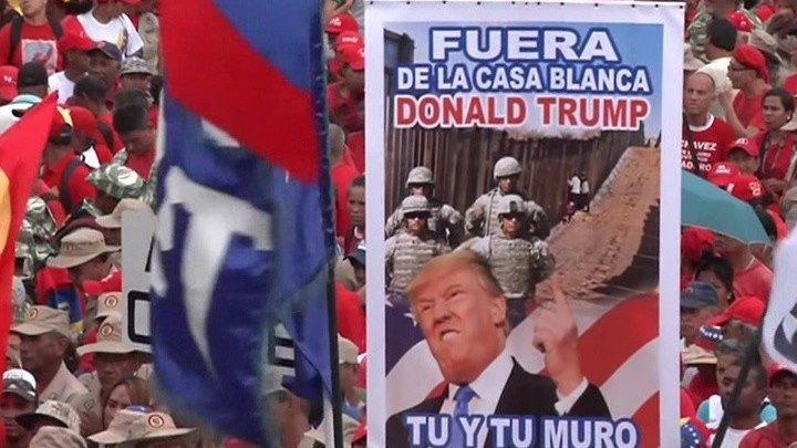 Трамп не исключает военного вторжение американцев в Венесуэлу. В ответ Мадуро обещает дать отпор