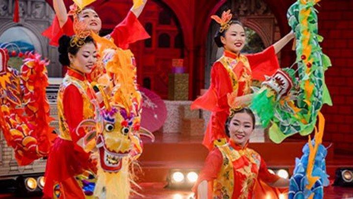 Модный приговор. Китайский новогодний танец.