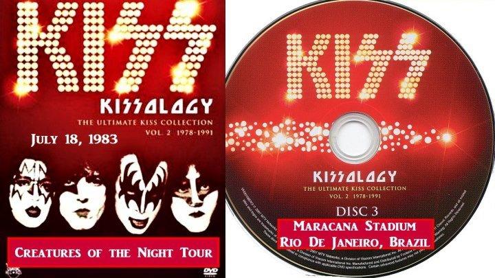 Kiss - Creatures of the Night Tour - 18.06.1983 - Концерт в Рио де Жанейро - Full HD 1080p - группа Рок Тусовка HD / Rock Party HD
