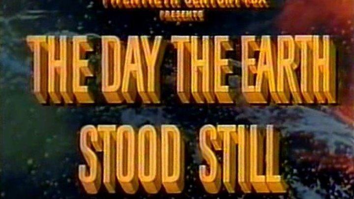 День, когда Земля остановилась (1951) / The Day the Earth Stood Still (1951) [Цветная версия]