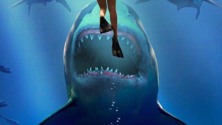 Глубокое синее море 2 (2018) 🔥 Жанр: ужасы, фантастика, боевик