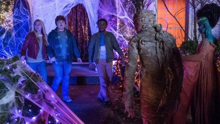 Ужастики 2:Беспокойный Хеллоуин (комедия, приключения, семейный, фэнтези, ужасы)