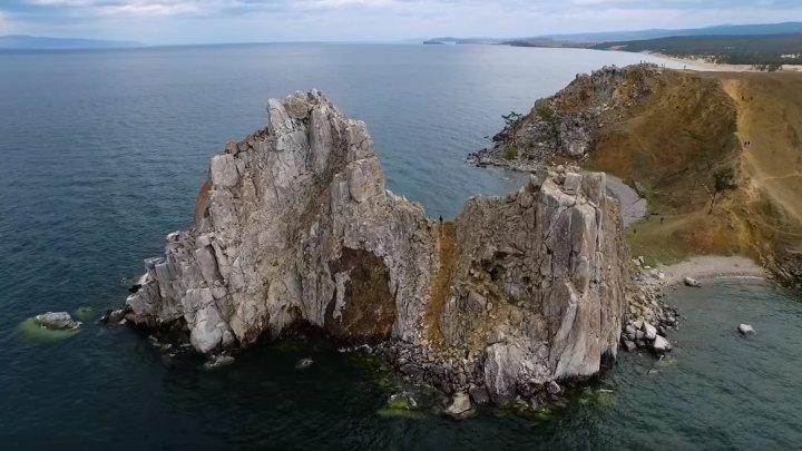 Байкал с высоты птичьего полета! Невероятно красиво!!!