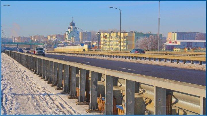 Зима в г.Березино! 17 ноября 2018г. Беларусь.