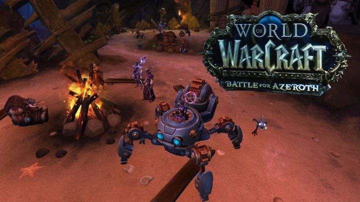 однокнопочный маг за орду World of Warcraft Battle for Azeroth