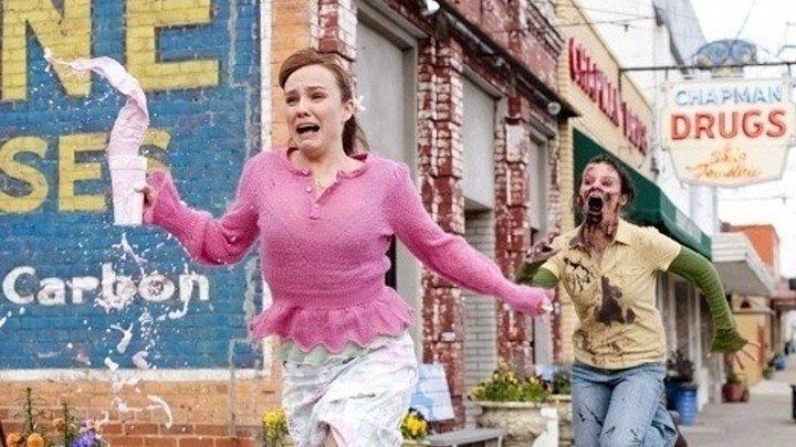 Добро пожаловать в Zомбилэнд. ужасы, фантастика, комедия, приключения