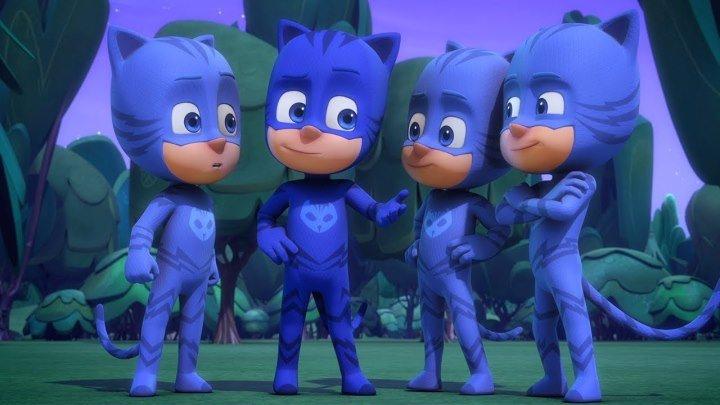 Герои в масках - Кэтбой в квадрате ⭐️ Полные эпизоды 2019 ⭐️мультики для детей