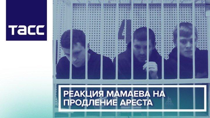 Реакция Мамаева на продление ареста