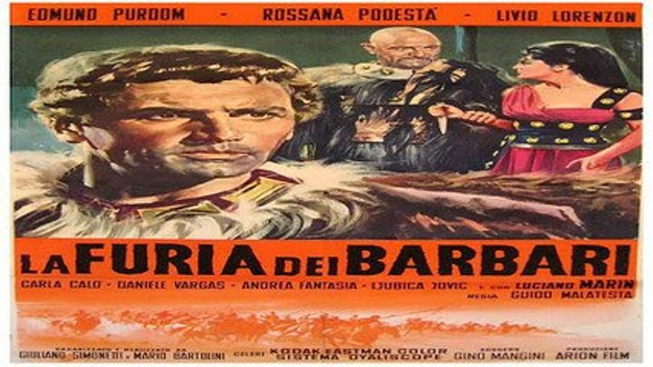 La furia de los bárbaros (1960) 3