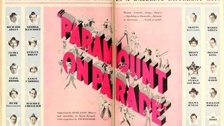 Paramount on Parade 1930 with Paramount stars and contract-players