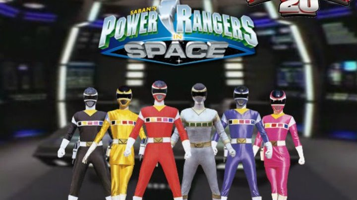 Power Rangers In Space - Official Opening Theme Song 5