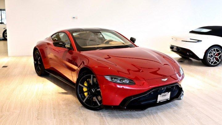 2019 Aston Martin Vantage - Коробка Передач™