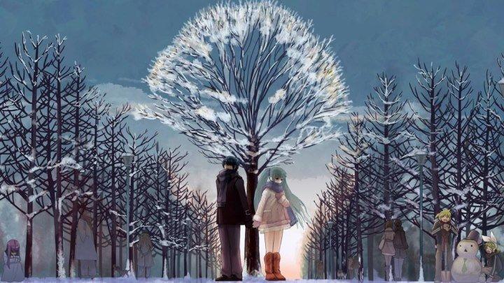 Зимний вечер.Виа ДК п.Астраханка.