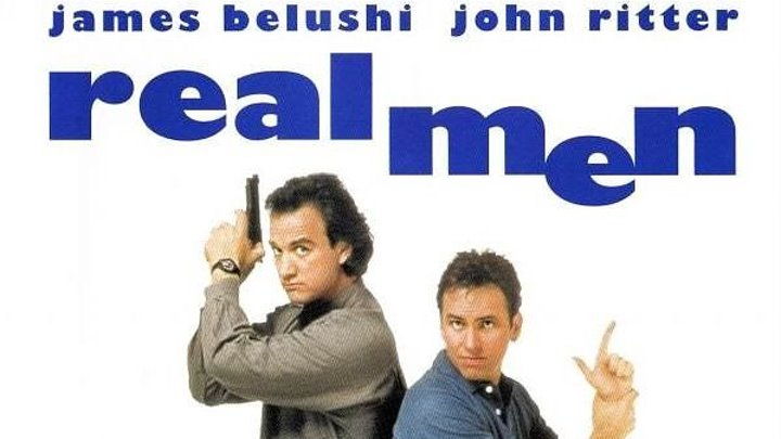 Настоящие мужчины (1987) (HDTVRip-720p) AVO (Алексей Михалев) фантастика, боевик, комедия Джеймс Белуши, Джон Риттер, Барбара Барри, Билл Мори, Айза Джэнк, Гэйл Барл, Марк Херриер