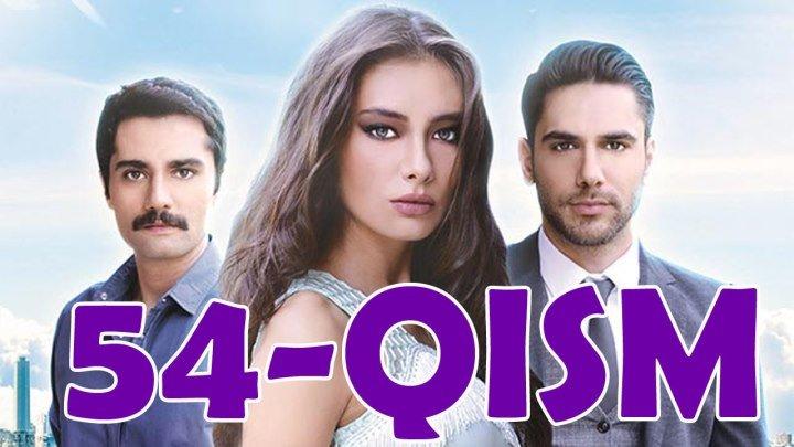 Ishq sohillari 54-qism Turk serial Uzbek tilida