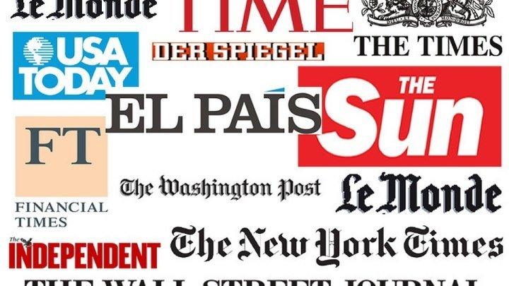 Какой в прошедшем году предстала Россия в западной прессе.