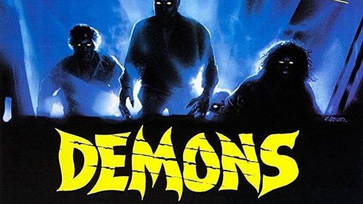 Демоны (1985) (BDRip-720p) AVO (Андрей Гаврилов) Ужасы Урбано Барберини, Наташа Хови, Карл Синни, Фьоре Ардженто, Паола Коццо, Фабиола Толедо, Николетта Элми