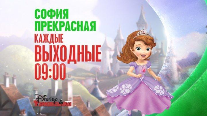 Новый сезон мультсериала «София Прекрасная»!