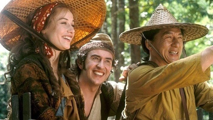 Вокруг света за 80 дней _(2004) Боевик, комедия, приключения, семейный, вестерн