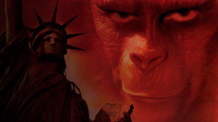 """Кино """"Планета обезьян (1968)"""" MaximuM"""