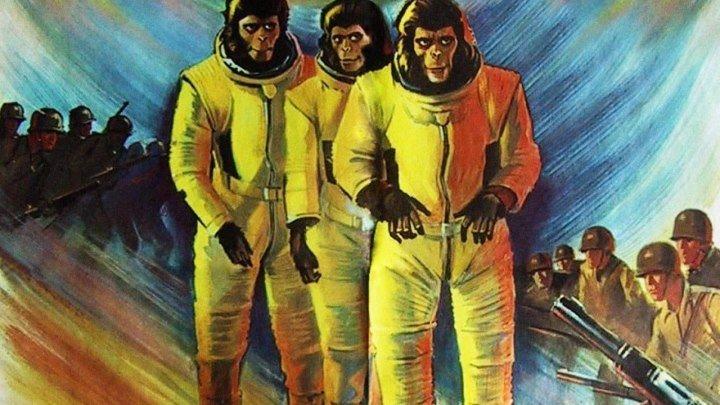"""Кино """"Бегство с планеты обезьян (1971)"""" MaximuM"""