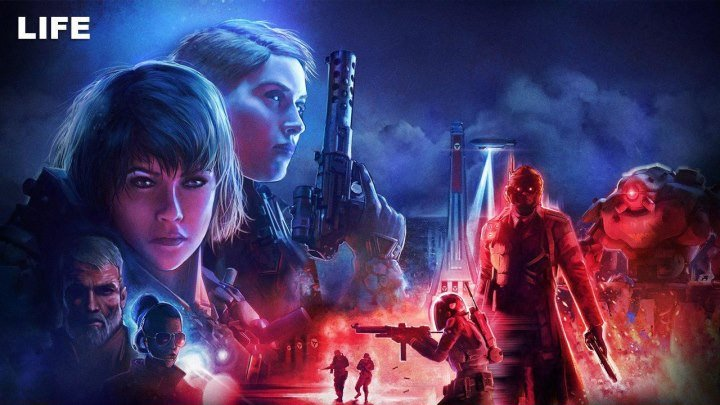 +18 Играем в Wolfenstein: Youngblood