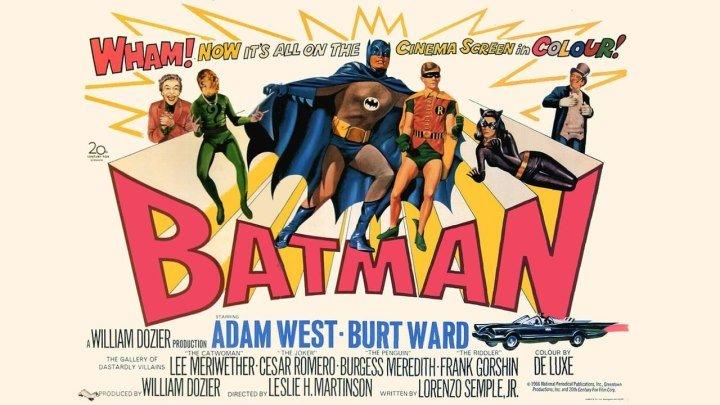 """Кино """"Бэтмен (1966)"""" MaximuM"""