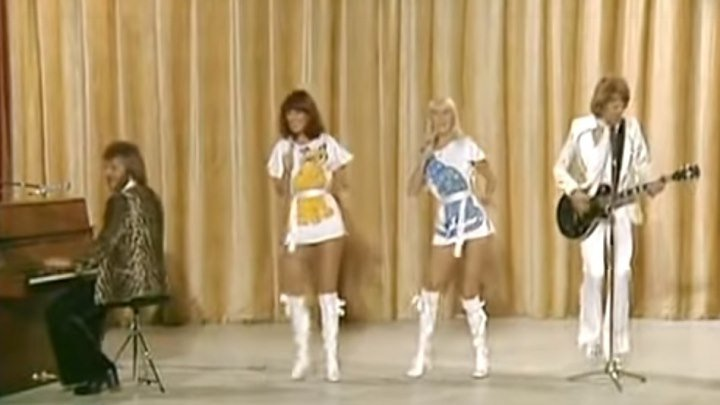 "ABBA - ""Waterloo"". Музыка на все времена! Супер!!!"