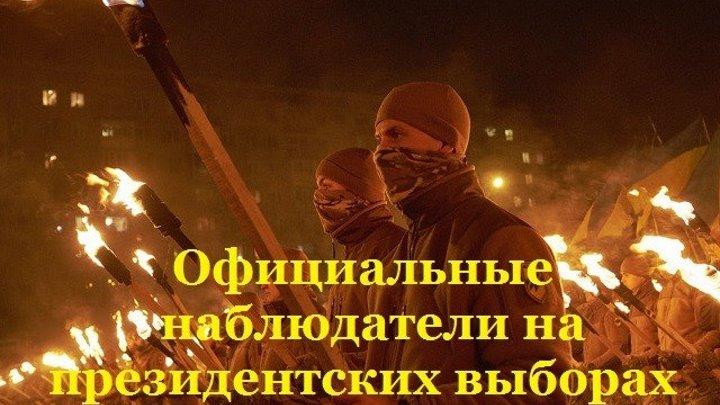 На Украине нацисты получили статус официальных наблюдателей на президентских выборах