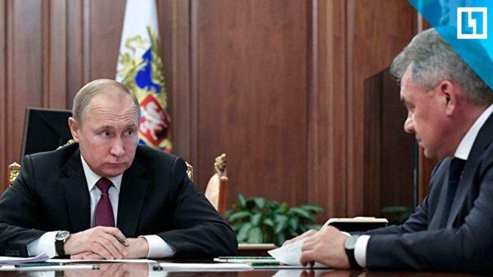 Путин о новых системах вооружения