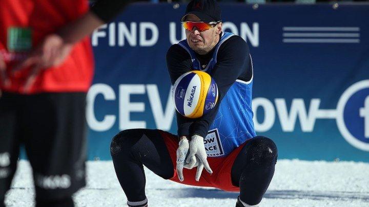 Снежный волейбол. Московский этап «Евротура». Основной этап. 3 корт