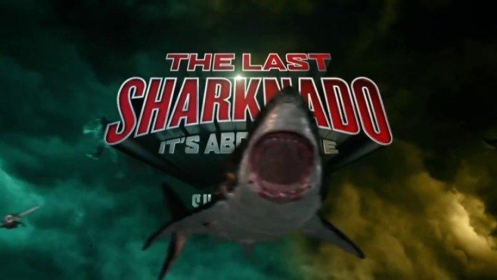 The.Last.Sharknado.Its.About.Time.2018.HDRip. Жанр: ужасы, фэнтези, приключения, комедия, фантастика, боевик