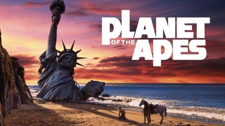 Планета обезьян / Planet Of The Apes (1968, США, фантастика, постапокалипсис)