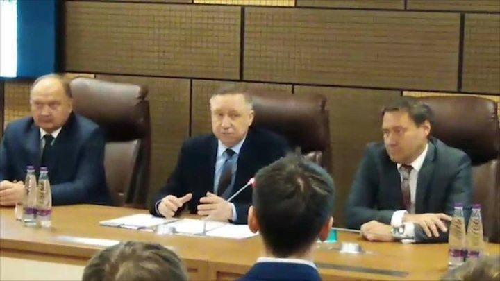 Александра Бельского представили как главу комитета территориального развития Петербурга. ФАН-ТВ