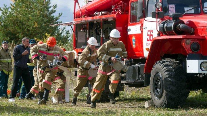 В Курске соревнуются спасатели