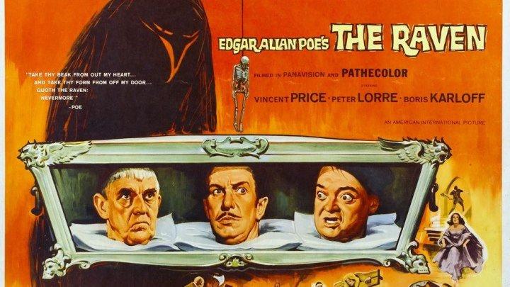 Ворон / The Raven (1963, США, мистика, ужасы, Эдгар Аллан По)