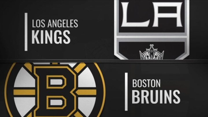 NHL Regular Season 2018-19, Los Angeles Kings-Boston Bruins